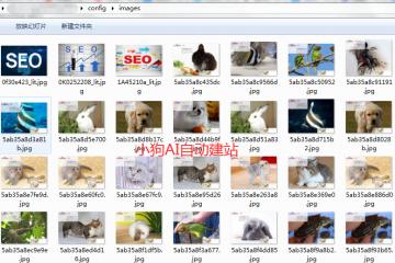 小狗AI自动建站自动图片功能说明